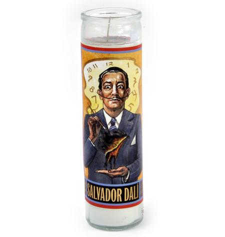 Salvador Dali - Secular Saint Salvador Candle