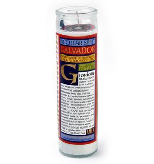 Salvador Dali - Secular Saint Salvador Candle Thumbnail 3