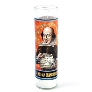 William Shakespeare - Secular Saint William Candle Thumbnail 1