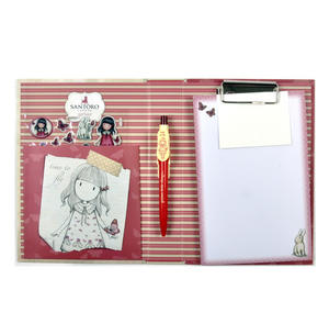 Time to Fly Premium Clip Pad Stationary Set with Pen, Notepaper & Stickers by Gorjuss Thumbnail 4
