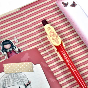 Time to Fly Premium Clip Pad Stationary Set with Pen, Notepaper & Stickers by Gorjuss Thumbnail 7