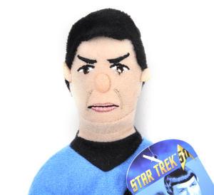 Mr. Spock - Star Trek Finger Puppet & Fridge Magnet Thumbnail 2