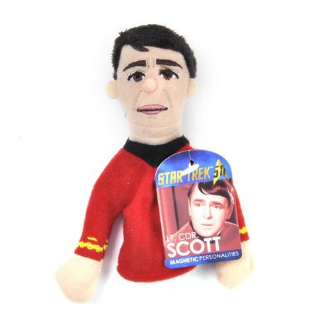 Lt. Cdr. Scott  - Star Trek Finger Puppet & Fridge Magnet