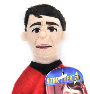 Lt. Cdr. Scott  - Star Trek Finger Puppet & Fridge Magnet Thumbnail 2