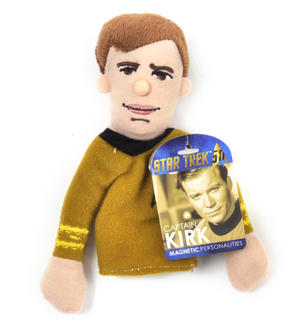 Captain Kirk - Star Trek Finger Puppet & Fridge Magnet Thumbnail 1