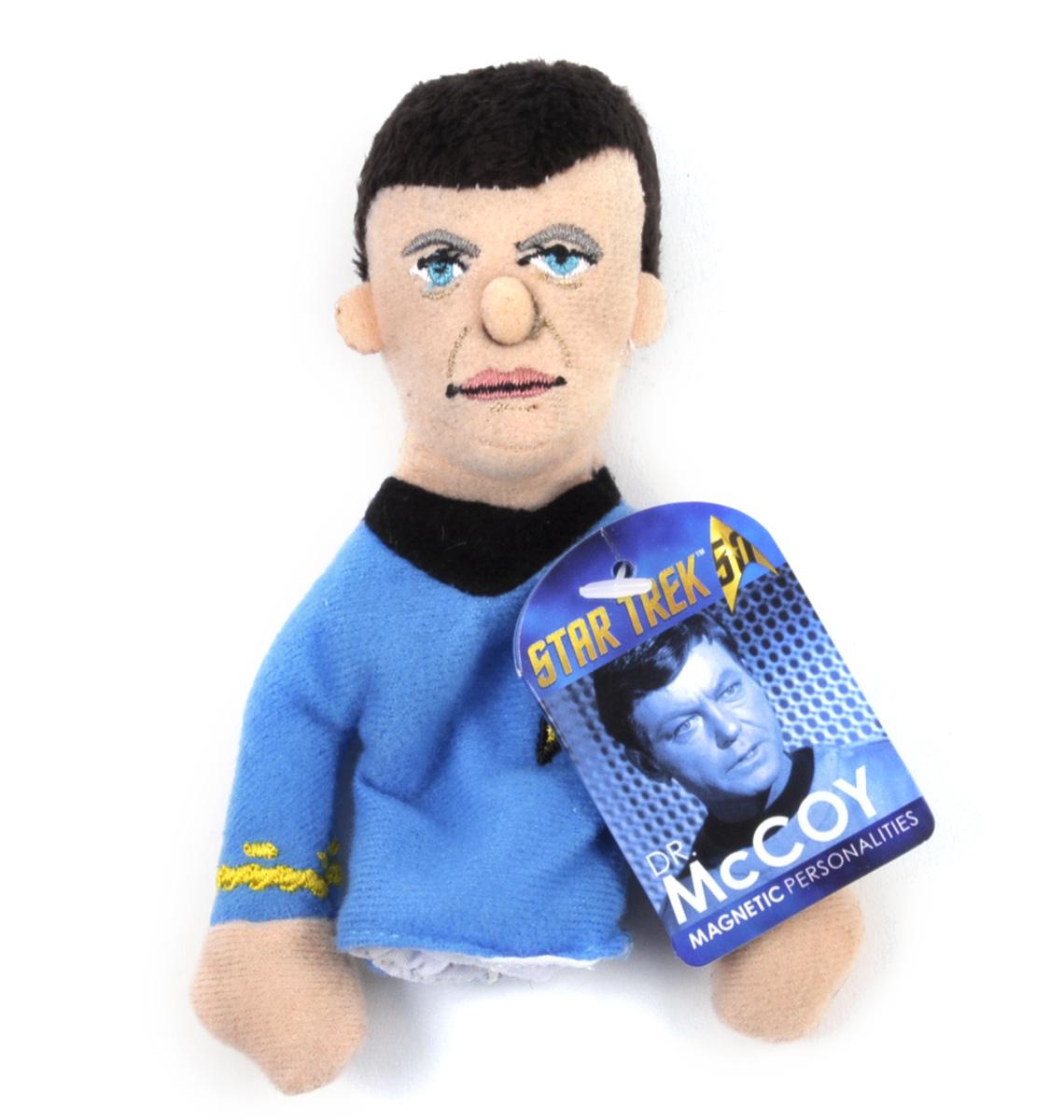 Dr Star Trek Finger Puppet /& Fridge Magnet McCoy