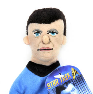 Dr. McCoy - Star Trek Finger Puppet & Fridge Magnet Thumbnail 2