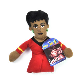 Lt. Uhura - Star Trek Finger Puppet & Fridge Magnet Thumbnail 1