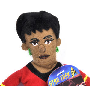 Lt. Uhura - Star Trek Finger Puppet & Fridge Magnet Thumbnail 2
