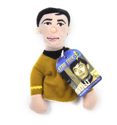 Lt. Sulu - Star Trek Finger Puppet & Fridge Magnet