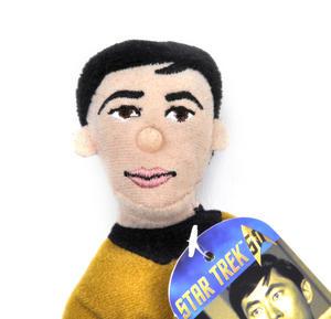 Lt. Sulu - Star Trek Finger Puppet & Fridge Magnet Thumbnail 2