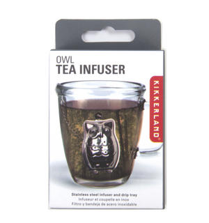 Owl Tea Infuser / Tea Egg Thumbnail 2
