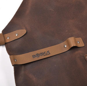 Mr. Smith Cheese Apron - Brown Leather Culinary Apron by Boska Thumbnail 2