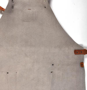 Mr. Smith Cheese Apron - Grey Leather Culinary Apron by Boska Thumbnail 3