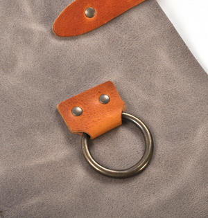 Mr. Smith Cheese Apron - Grey Leather Culinary Apron by Boska Thumbnail 6