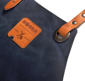 Mr. Smith Cheese Apron - Blue Leather Culinary Apron by Boska Thumbnail 5