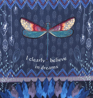 Dragonfly / La Libellule - I Clearly Believe in Dreams - Curiosités Sauvages Bag Shopper Thumbnail 2