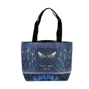 Dragonfly / La Libellule - I Clearly Believe in Dreams - Curiosités Sauvages Bag Shopper Thumbnail 7