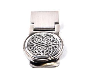 Celtic Neverending Knot Money Clip - Revised Design Thumbnail 4