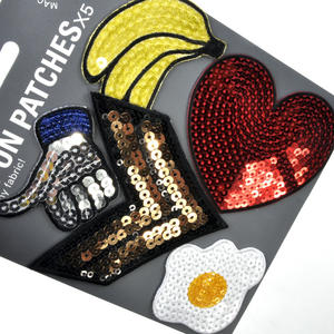 Sequins Iron-On Patches x5 Thumbnail 2