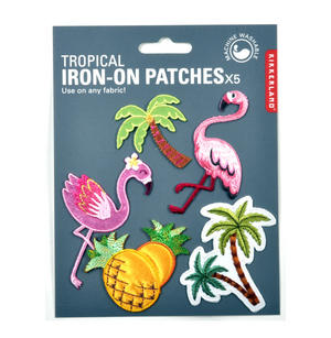 Tropical Iron-On Patches x5 Thumbnail 1