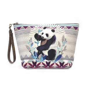 Panda Curiosités Sauvages Make Up Bag / Grande Trousse Thumbnail 1