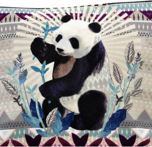 Panda Curiosités Sauvages Make Up Bag / Grande Trousse Thumbnail 2