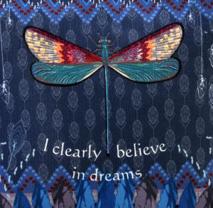 Dragonfly / La Libellule - I Clearly Believe in Dreams - Curiosités Sauvages Make Up Bag / Grande Trousse Thumbnail 2