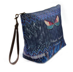 Dragonfly / La Libellule - I Clearly Believe in Dreams - Curiosités Sauvages Make Up Bag / Grande Trousse Thumbnail 4
