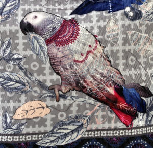 Le Perroquet / Parrot Make Up Bag / Grande Trousse Thumbnail 2
