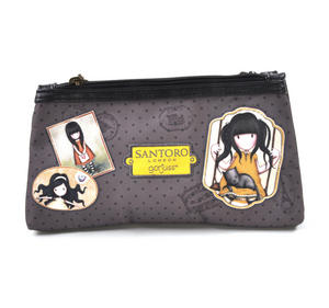 Gorjuss Vacation - Ruby (Yellow)  Double Pencil Case Thumbnail 3