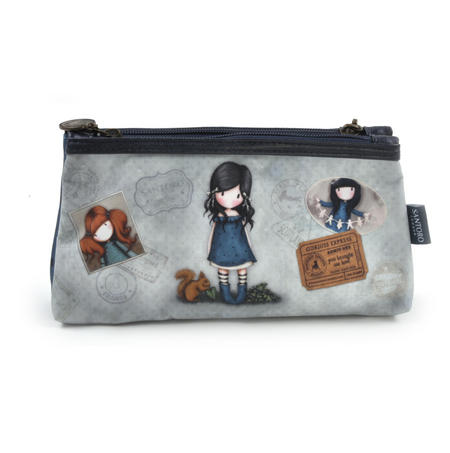 Gorjuss Vacation - You Brought Me Love  Double Pencil Case