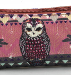 Owl / La Chouette Curiosités Sauvages Pencil Case/ Plumier Thumbnail 3