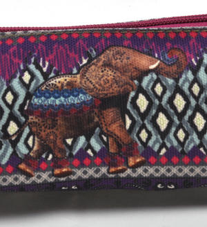 Elephant Curiosités Sauvages Pencil Case/ Plumier Thumbnail 4