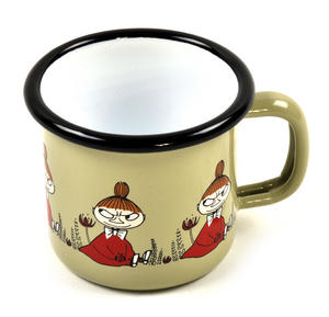 Little My - Green Moomin Muurla Enamel Mug - 1.5 cl Thumbnail 2