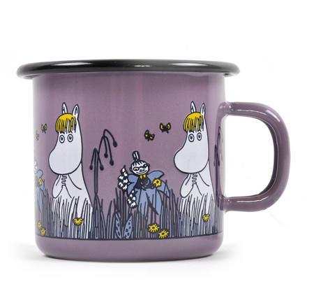 Snorkmaiden - Purple Moomin Muurla Enamel Mug - 25 cl