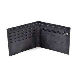 Ireland Black Embossed Leather Wallet with Coin Compartment Thumbnail 3