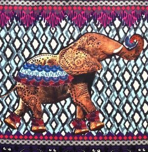 Elephant - Curiosités Sauvages Bag Shopper Thumbnail 4
