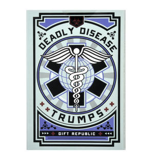 Deadly Disease Trumps Card Game