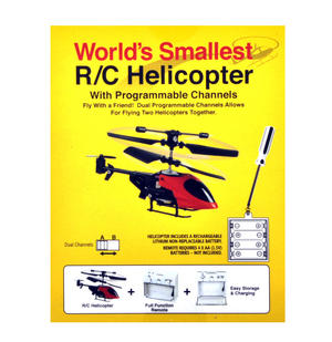 World's Smallest Remote Control Helicopter Thumbnail 5