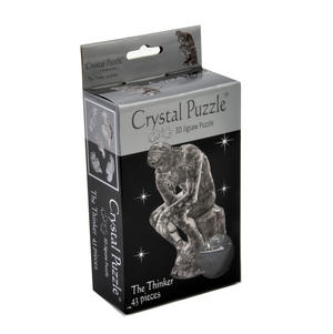 3D Crystal Puzzle - The Thinker Thumbnail 2