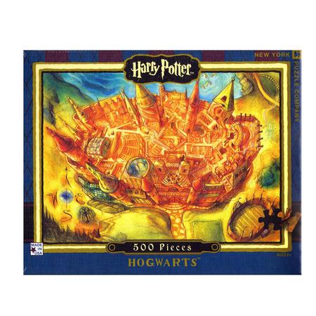 Harry Potter Hogwarts 500Pc Jigsaw Puzzle