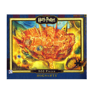 Harry Potter Hogwarts 500Pc Jigsaw Puzzle