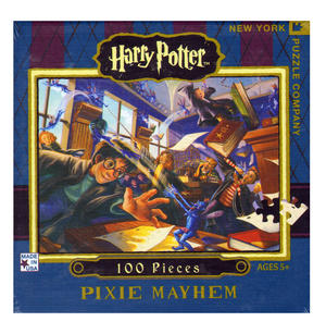 Harry Potter Pixie Mayhem 100Pc Jigsaw Puzzle Thumbnail 1