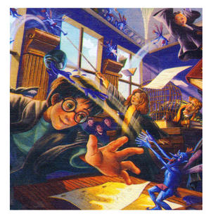 Harry Potter Pixie Mayhem 100Pc Jigsaw Puzzle Thumbnail 2