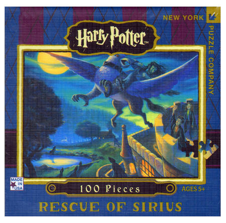 Harry Potter Rescue of Sirius 100Pc Jigsaw Puzzle