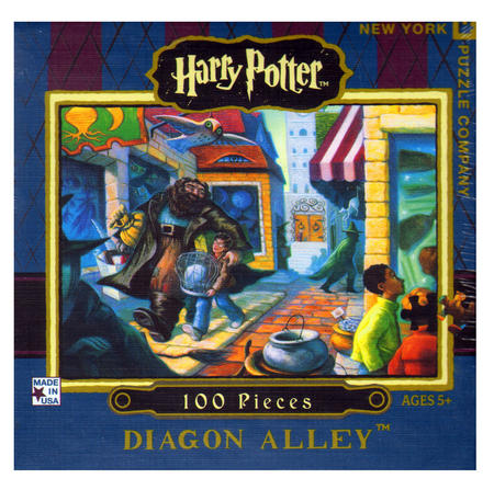 Harry Potter Diagon Alley 100Pc Jigsaw Puzzle