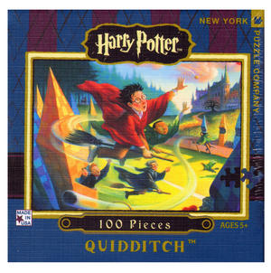 Harry Potter Quidditch 100Pc Jigsaw Puzzle Thumbnail 1