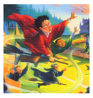 Harry Potter Quidditch 100Pc Jigsaw Puzzle Thumbnail 2