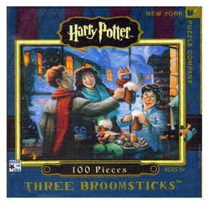Harry Potter Three Broomsticks 100Pc Jigsaw Puzzle Thumbnail 2